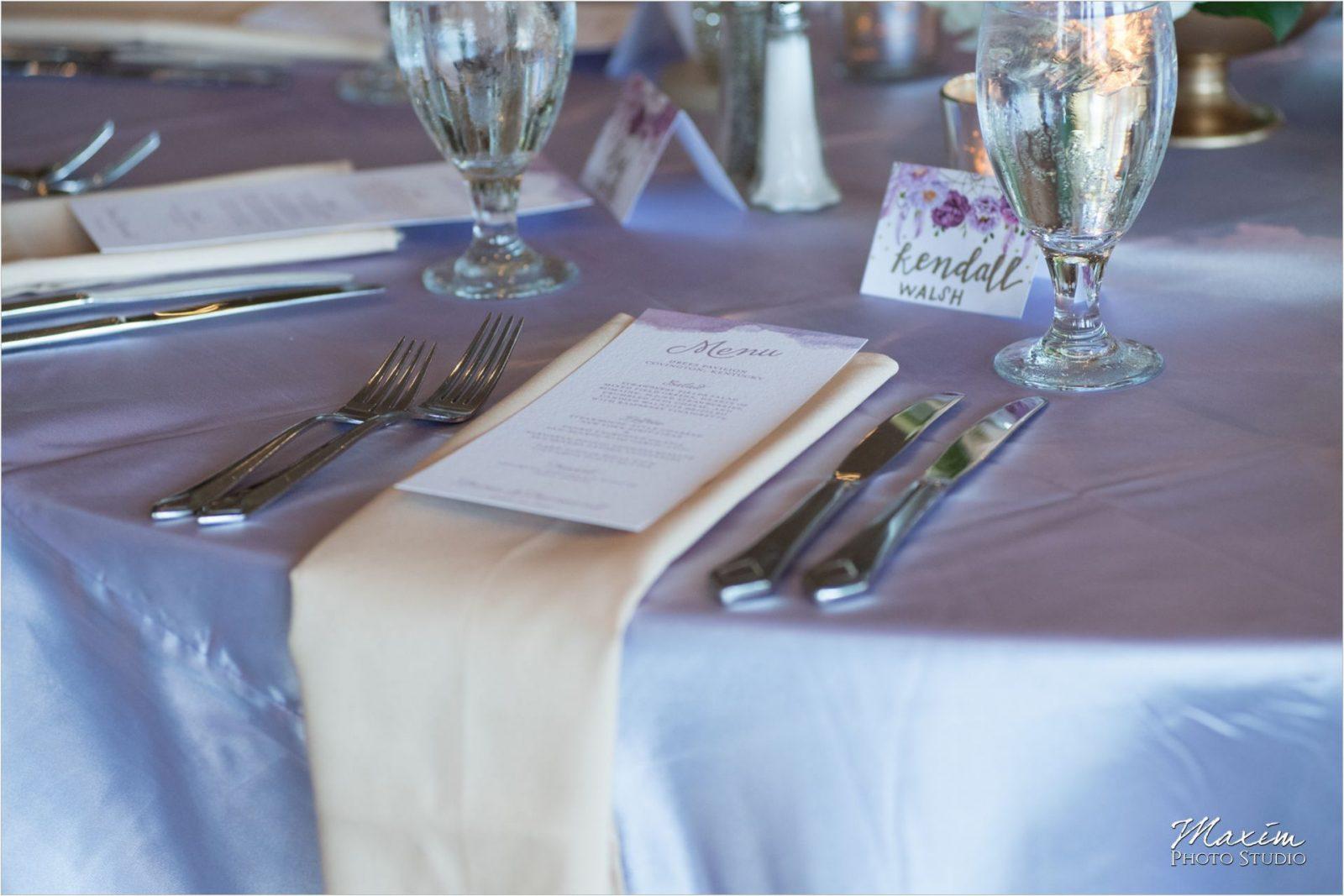 McHale's Catering Drees Pavilion Wedding Reception details