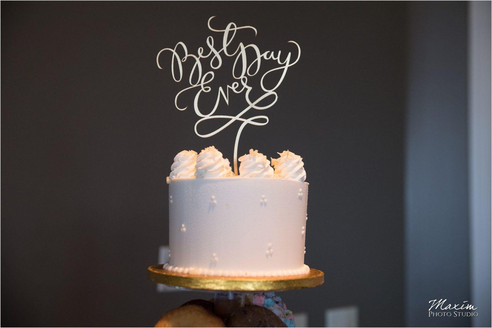 A Spoon Fulla Sugar Drees Pavilion Wedding Cake