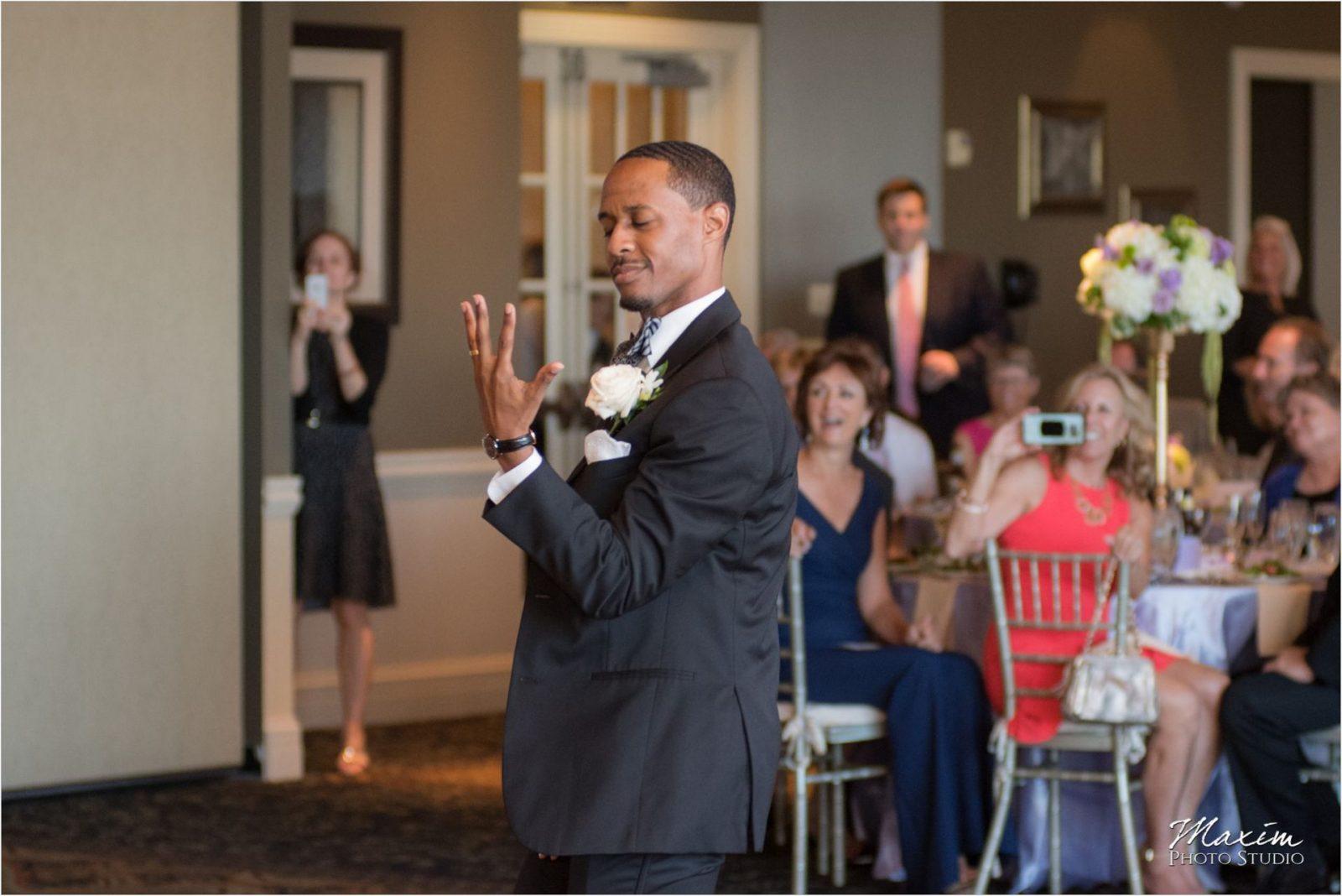 Drees Pavilion Wedding Reception Dancing