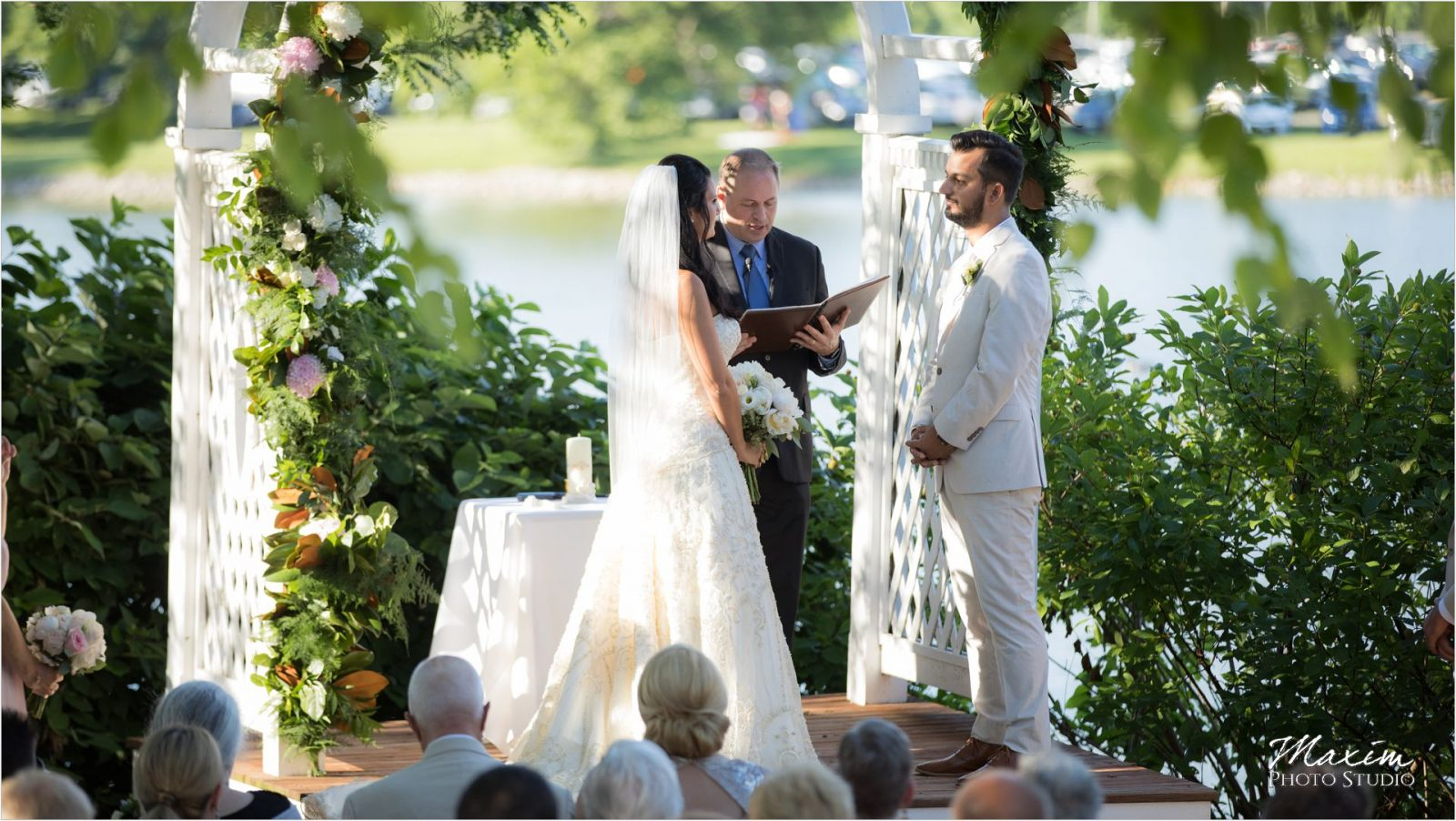 Moonlight Gardens Wedding Ceremony