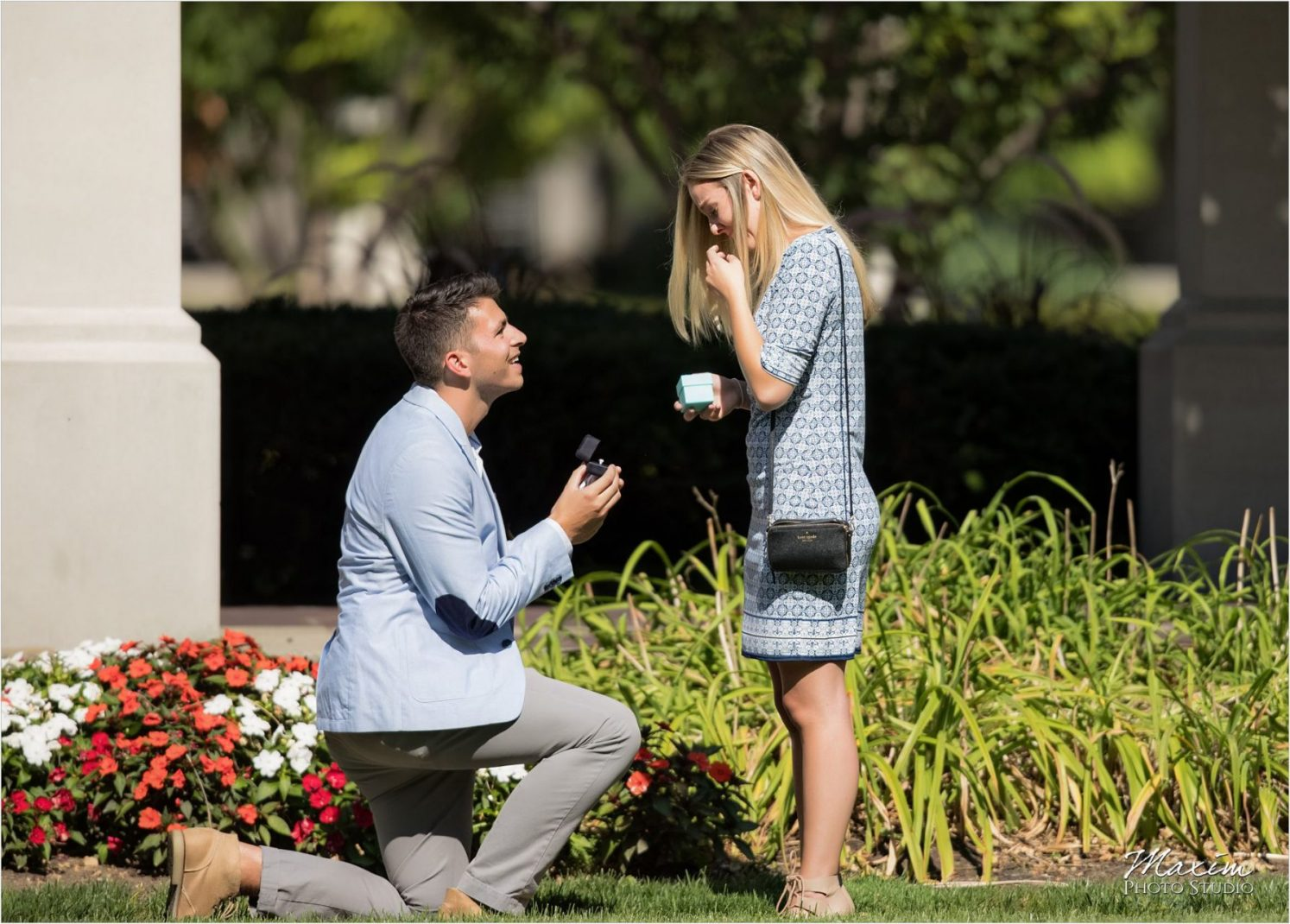 PG Gardens Cincinnati Surprise wedding Proposal