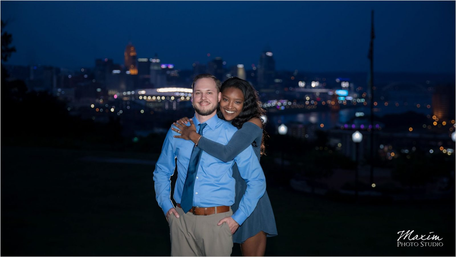 Cincinnati Drees Pavilion surprise Wedding Proposal