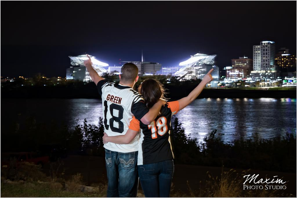 Paul Brown Stadium Cincinnati bengals jersey engagement