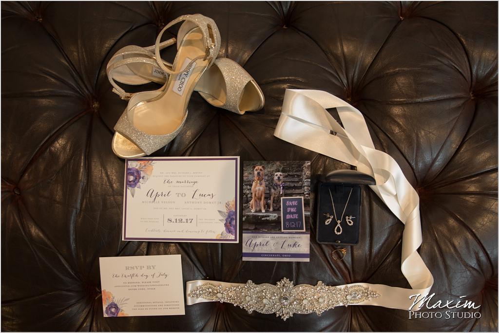 Cincinnati Wedding Photography Jimmy Choo wedding preparations