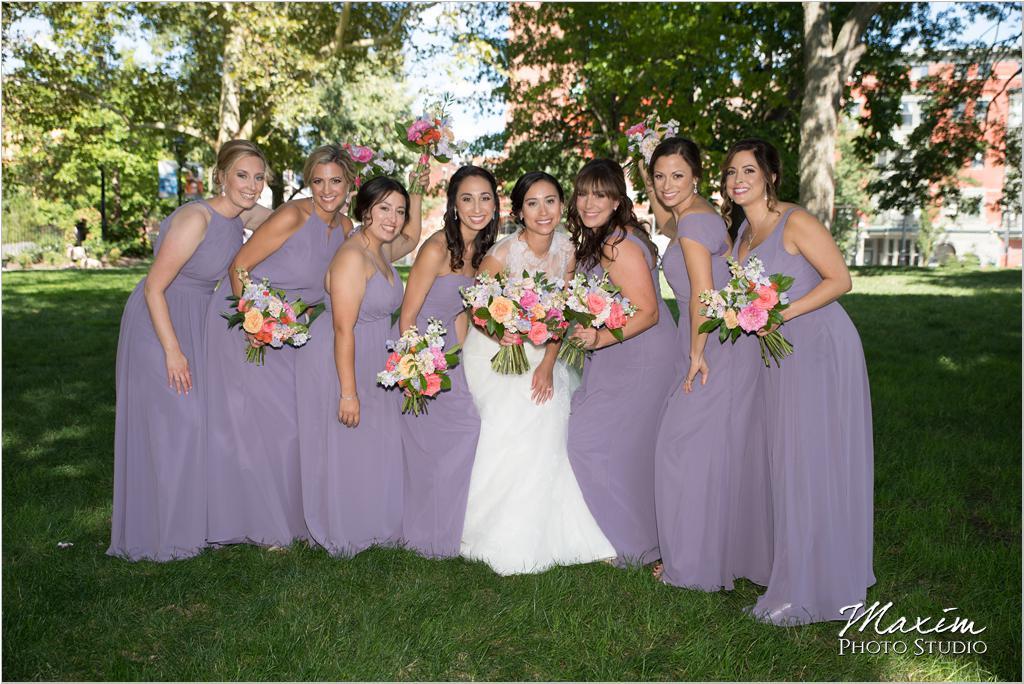 Washington Park Cincinnati Wedding Bride Marti Heard Flowers