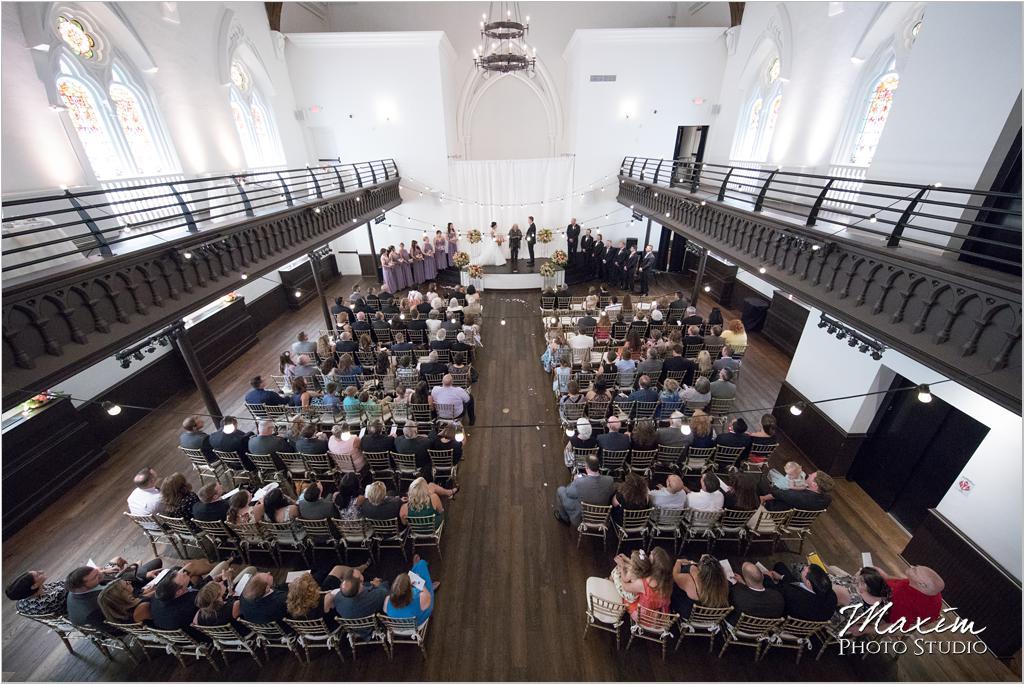 The Transept Cincinnati Wedding Ceremony