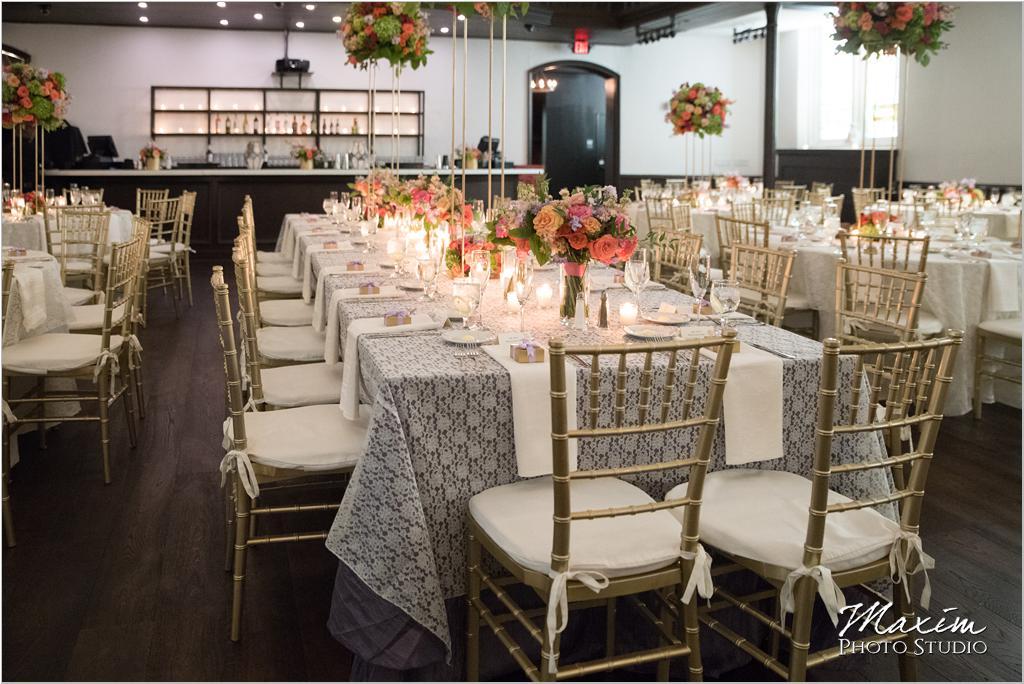 The Transept Cincinnati Wedding Reception