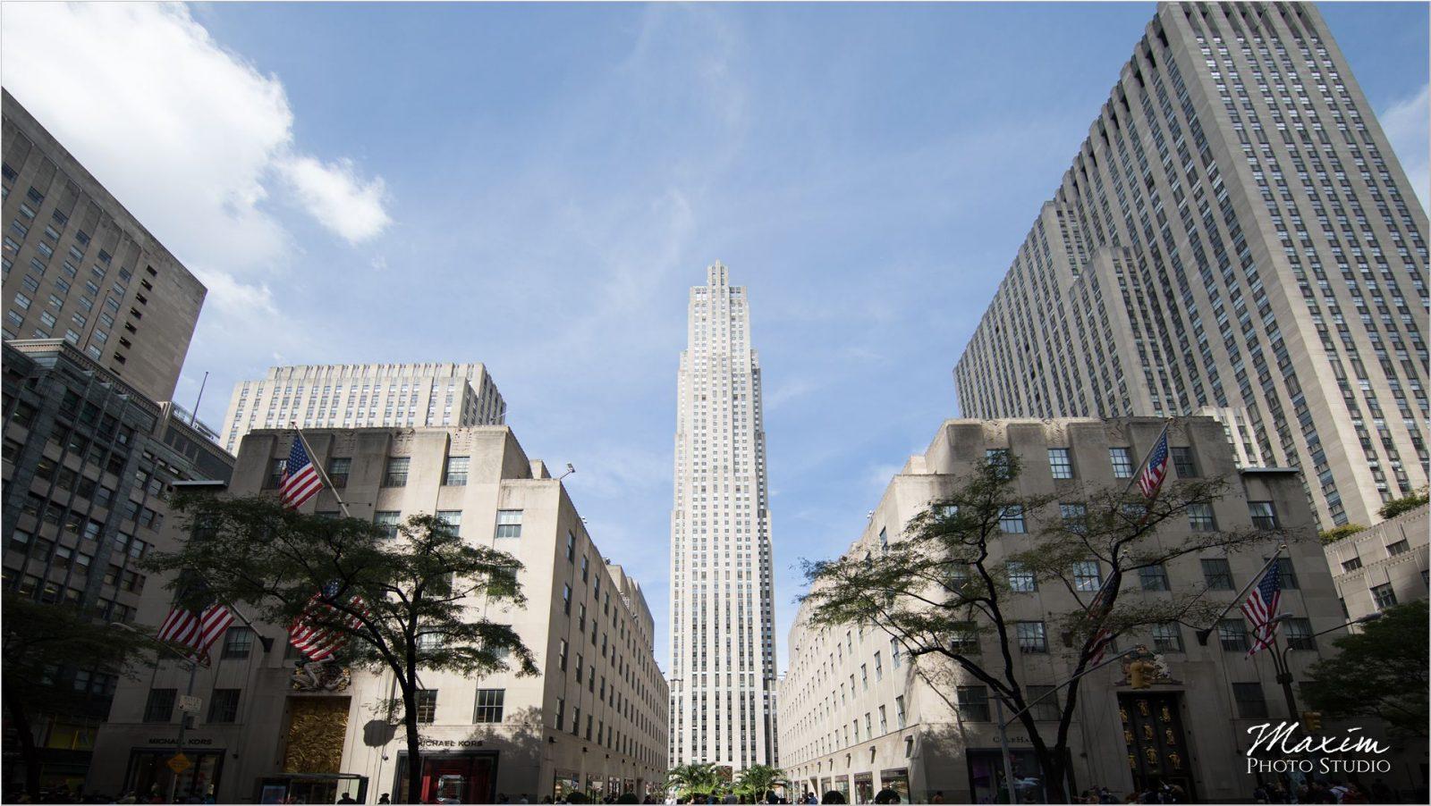 Rockefeller Center NYC Engagement