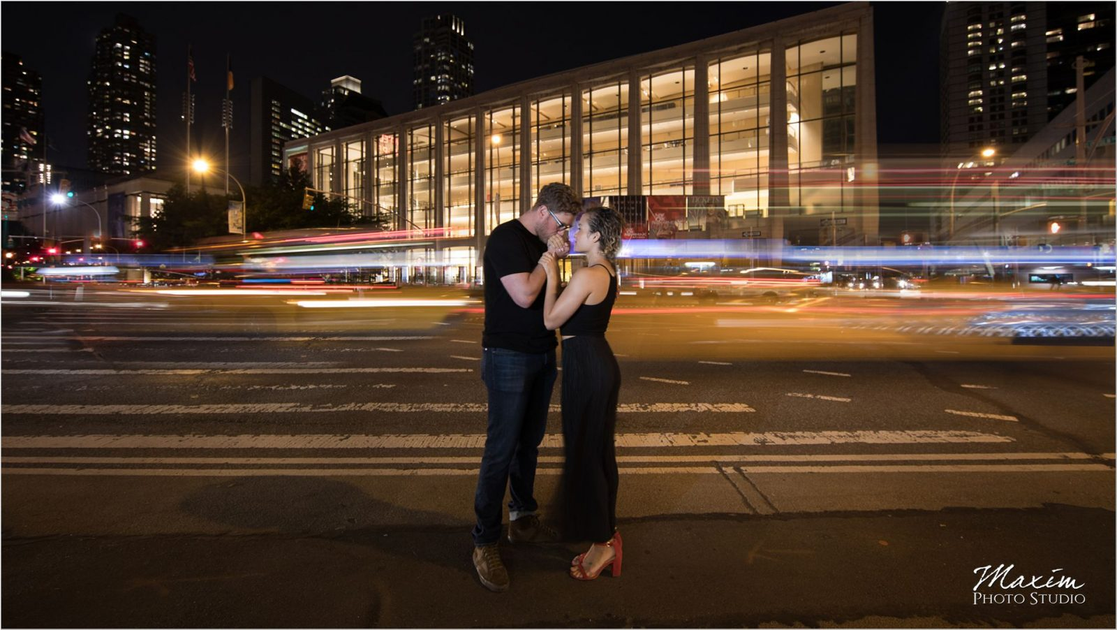 Lincoln Center NYC night engagement traffic