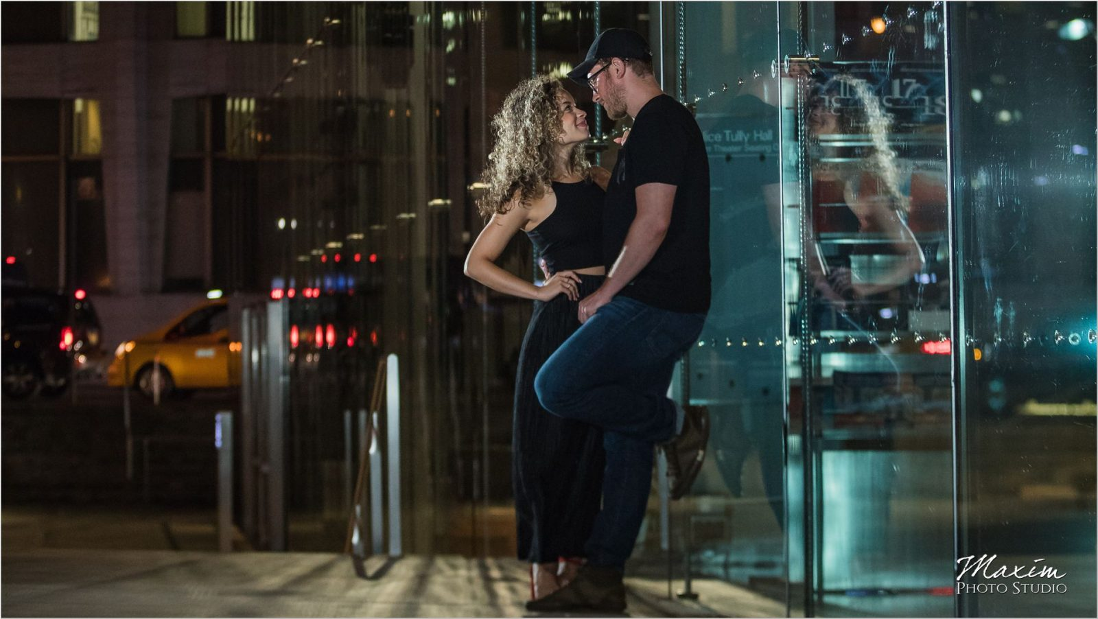 Lincoln Center NYC night engagement