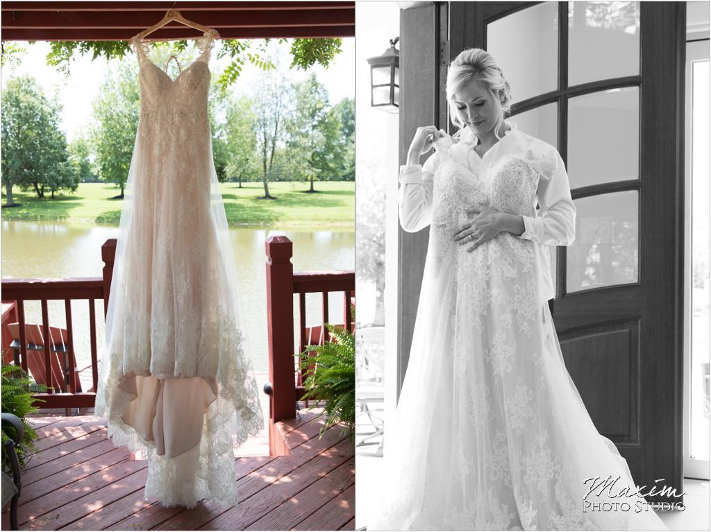 Luxe Redux Hanging Wedding Dress