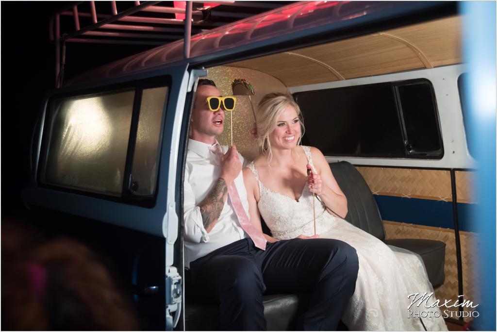 Cincinnnati Photo Bus Wedding Booth