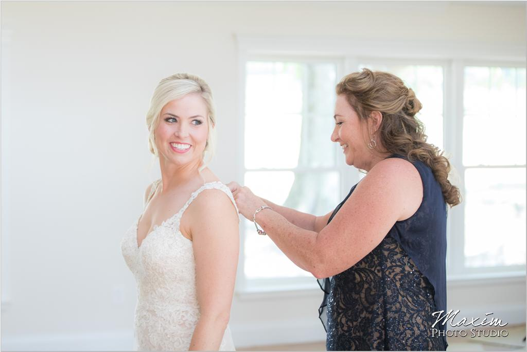 Luxe Redux Wedding Dress Bride Preparations