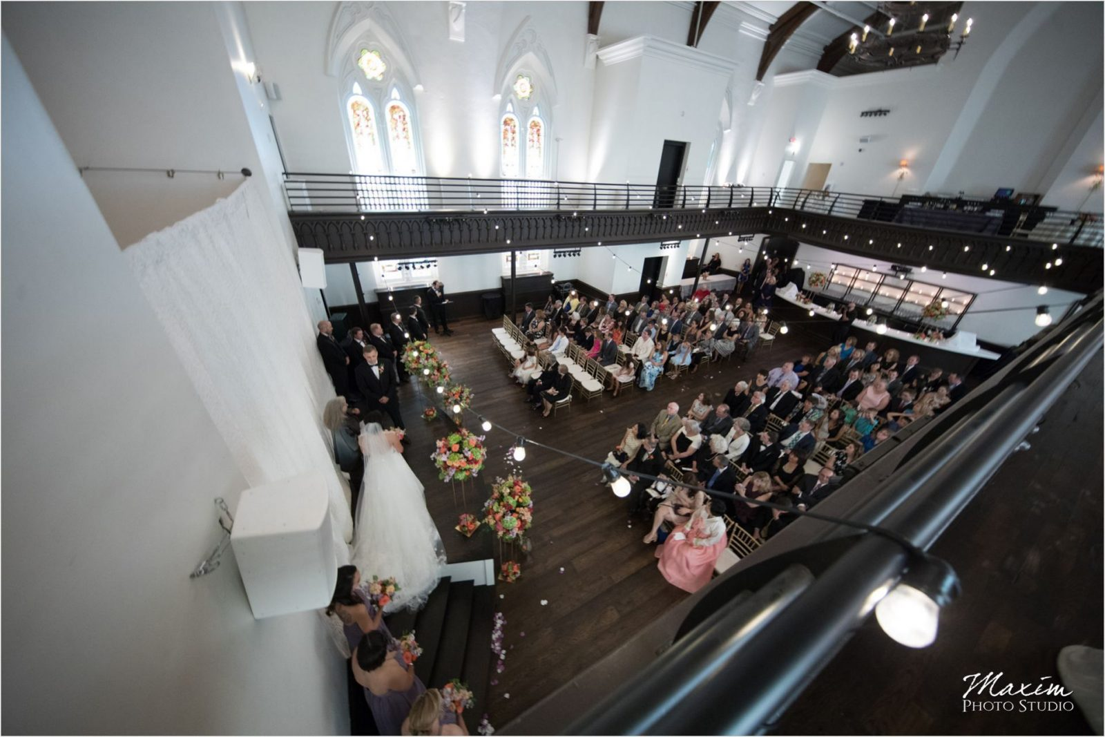 The Transept Cincinnati Wedding Ceremony