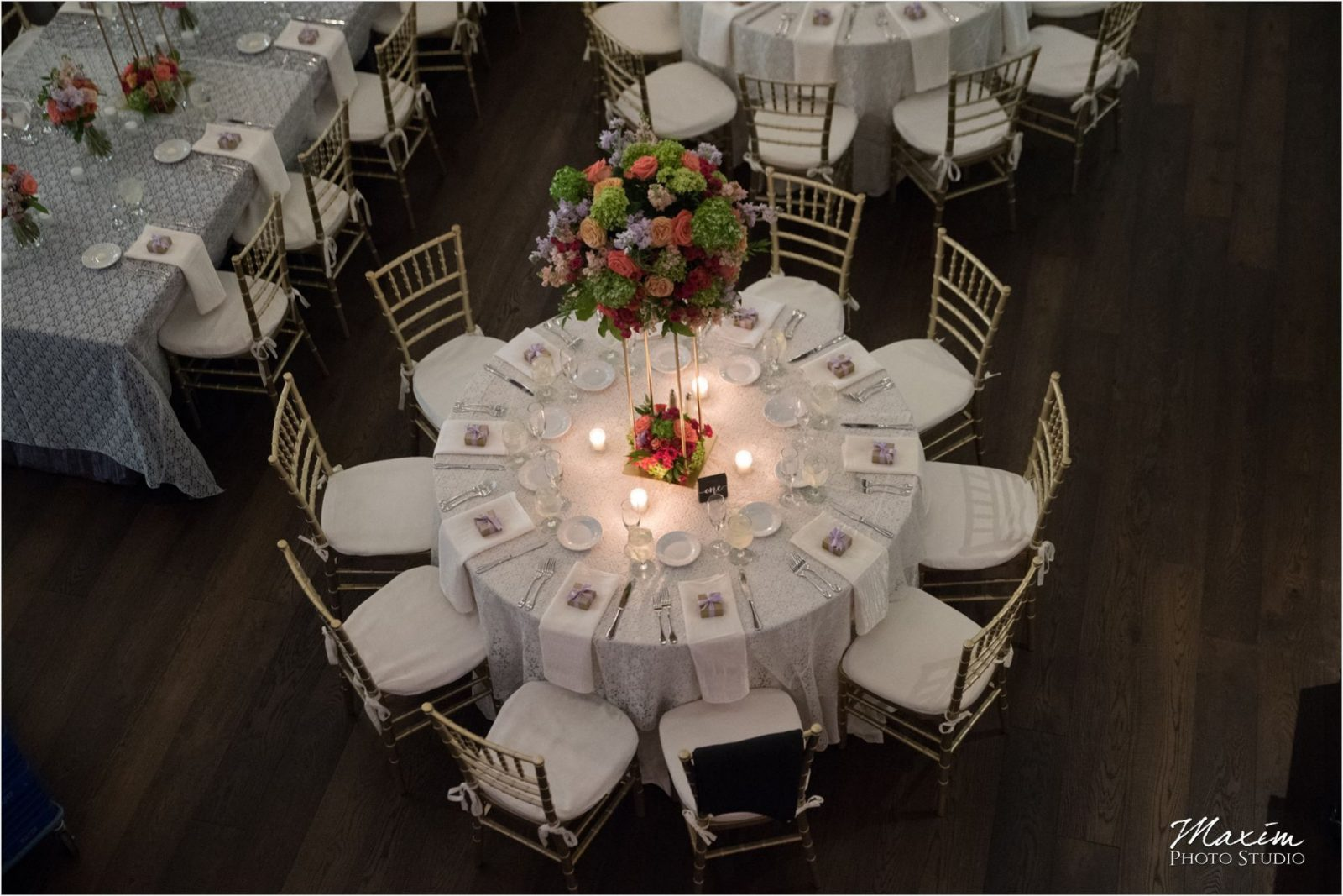 The Transept Cincinnati Wedding Reception
