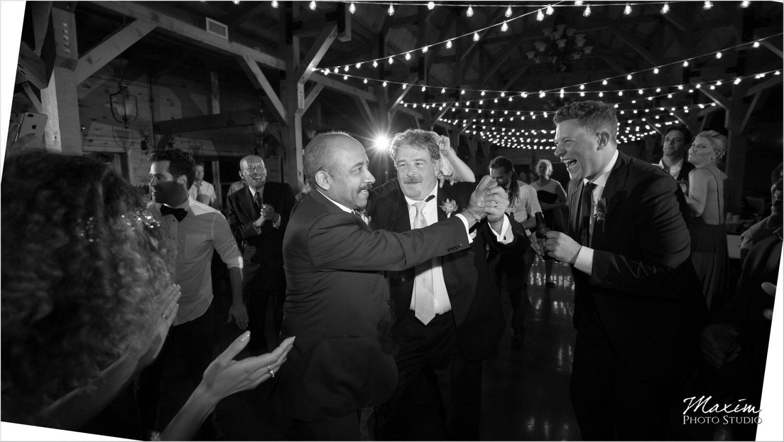 Canopy Creek Dayton Oh wedding Reception dancing