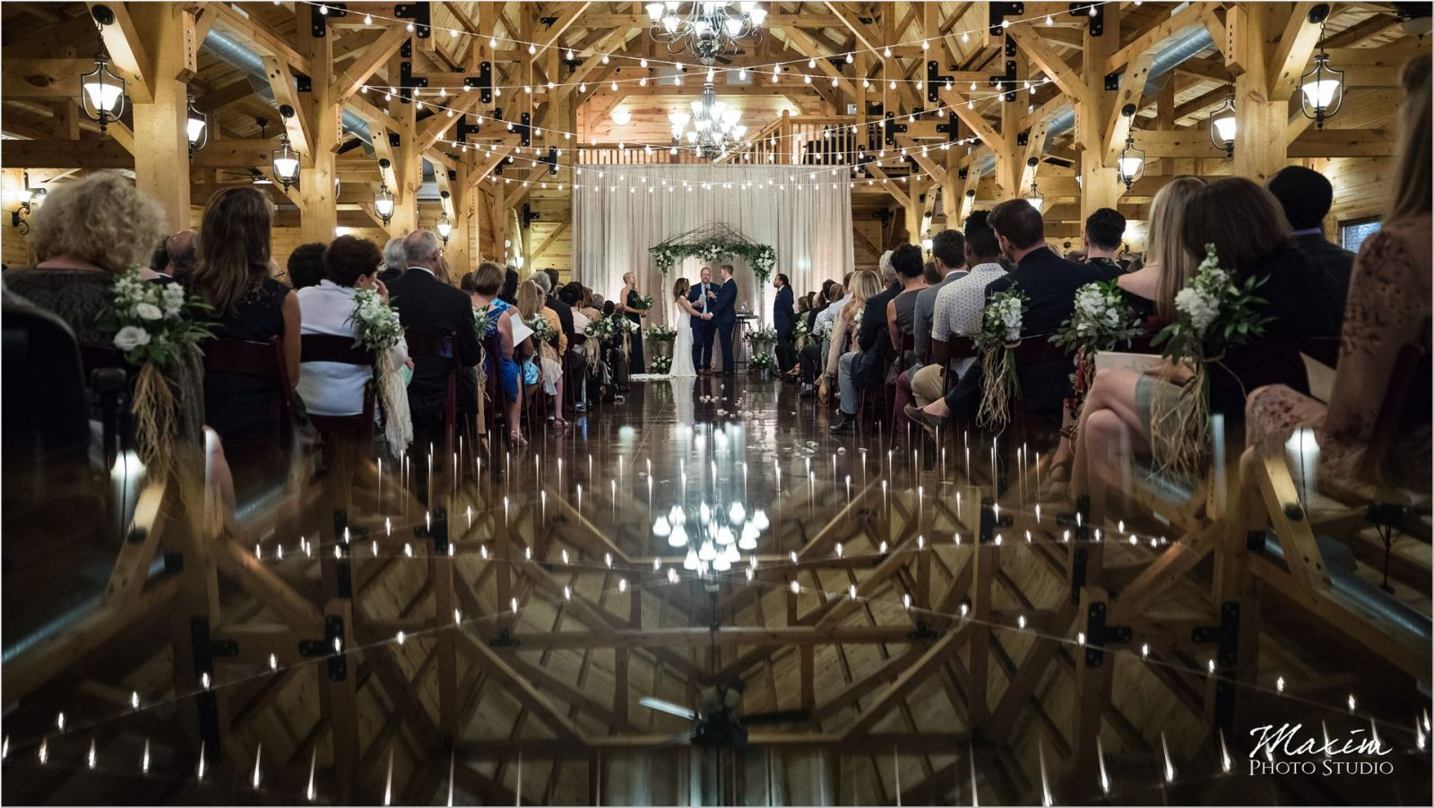 Canopy Creek Dayton Oh wedding Ceremony