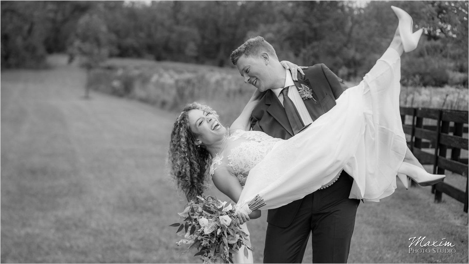 Canopy Creek Dayton Oh Wedding Portraits