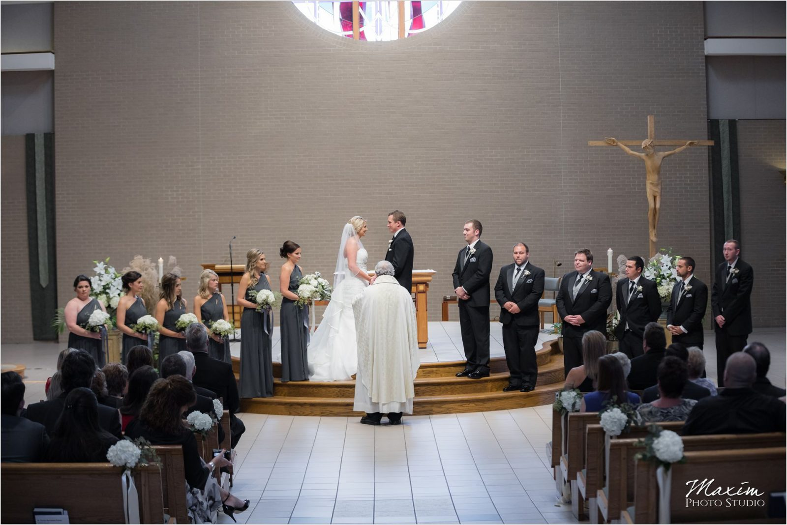 St Charles Borromeo Dayton Ohio wedding Ceremony