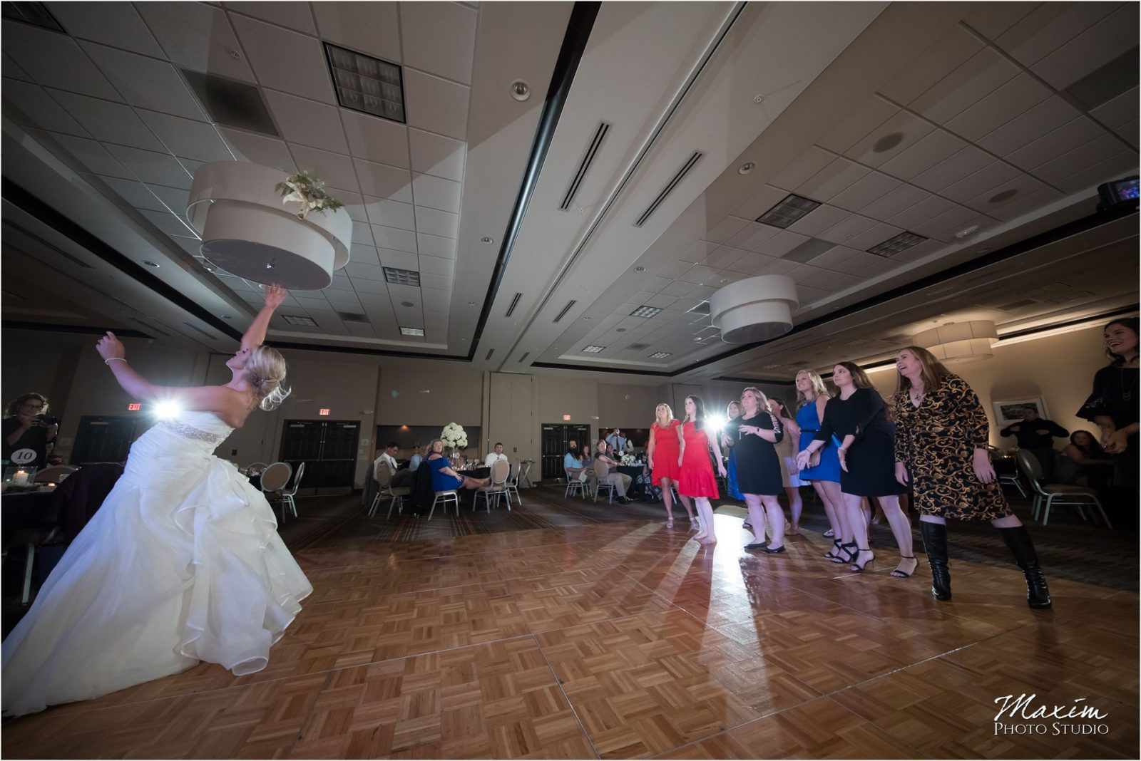 Hilton Garden Inn Austin Landing Wedding Reception