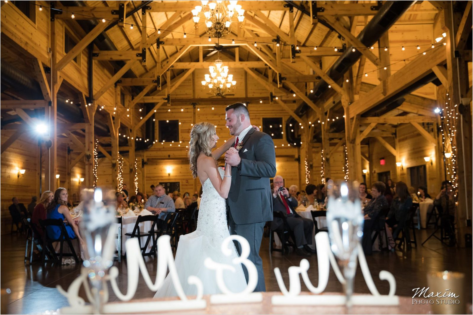 Rolling Meadows Ranch Wedding Reception Bride Groom dance