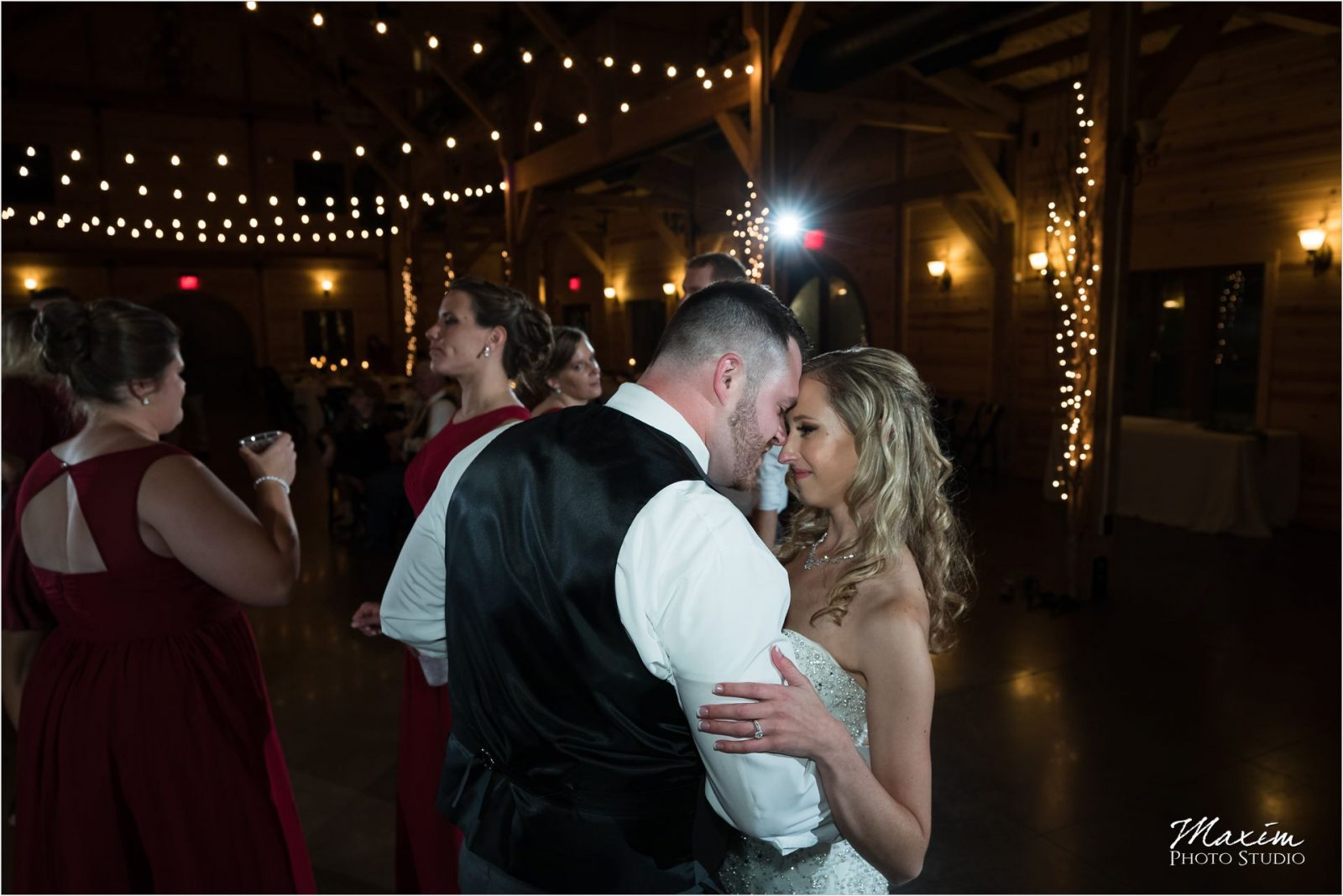 Rolling Meadows Ranch Bride Groom wedding reception dancing