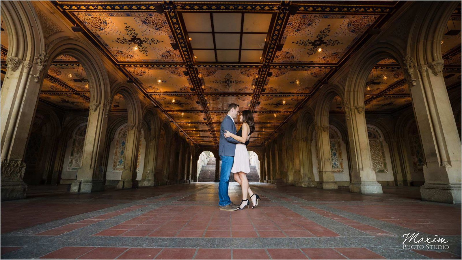 New York City Central Park Angel Tunnel Engagement