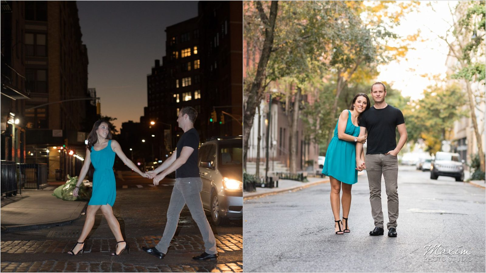 New York City Meatpacking District night Engagement