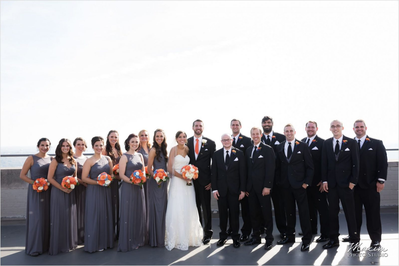 Carew Tower Observation Deck Cincinnati Wedding