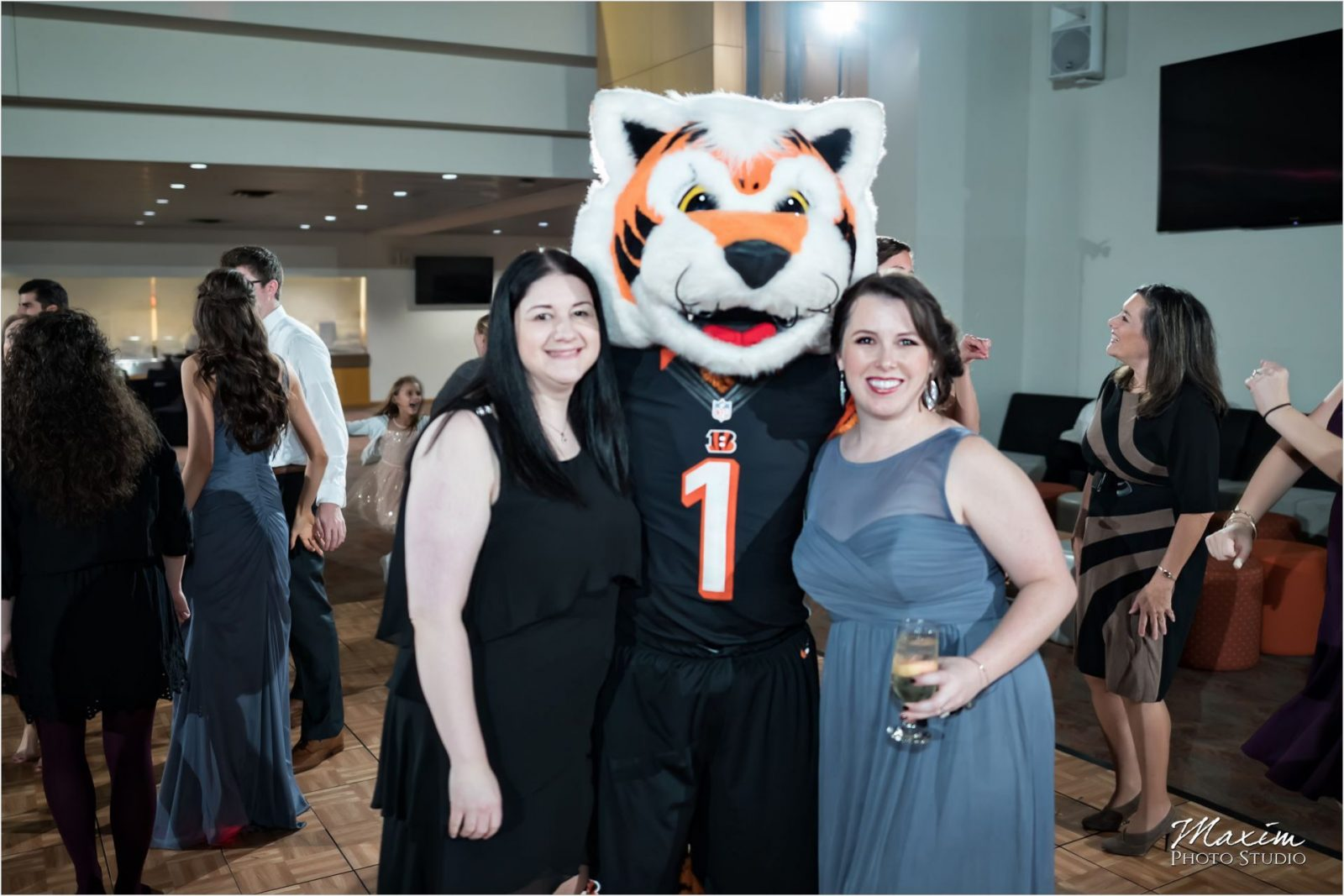 Party Pleasers DJs Paul Brown Stadium Wedding Reception Who Dey