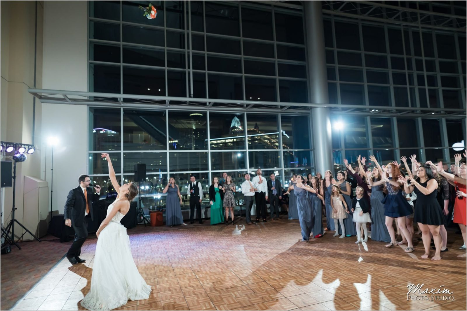 Cincinnati Wedding Photography Paul Brown Stadium Bouquet