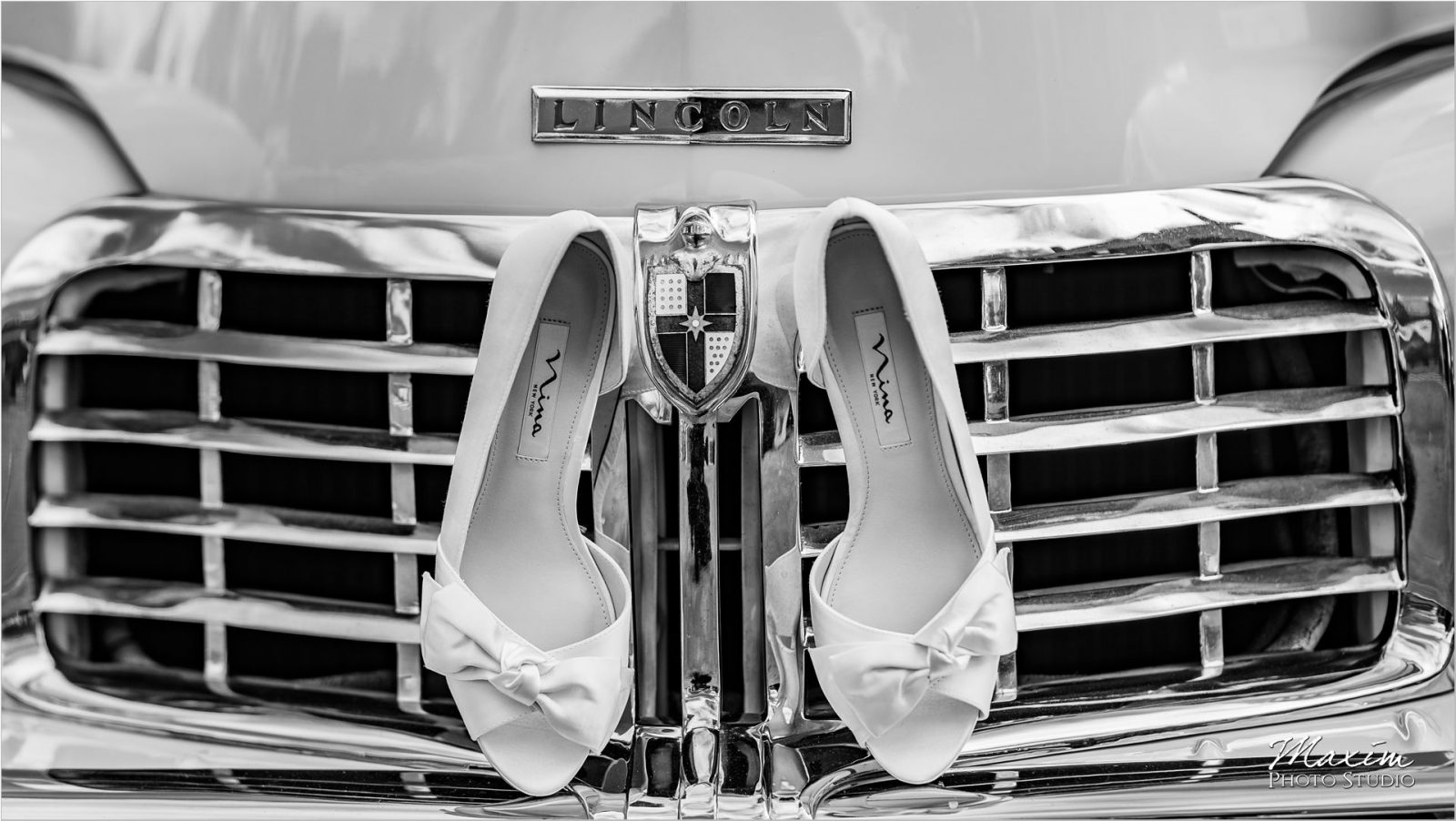 Nina Shoes Lincoln Continental Wedding
