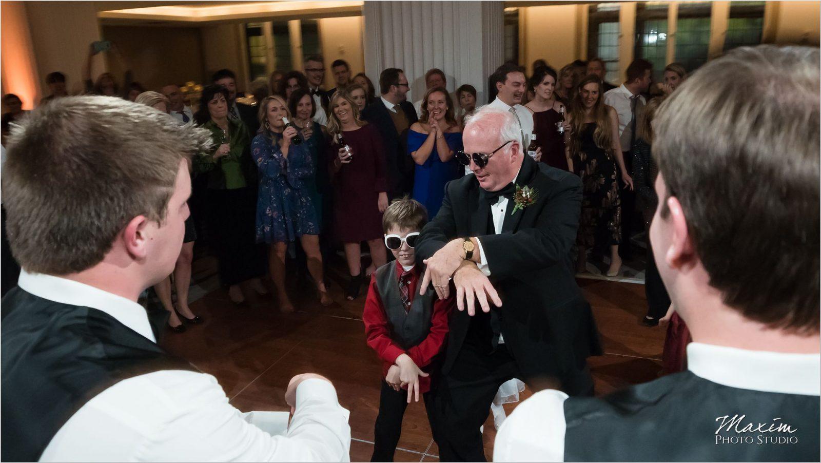 Renaissance Hotel Cincinnati Wedding reception Gangnam style