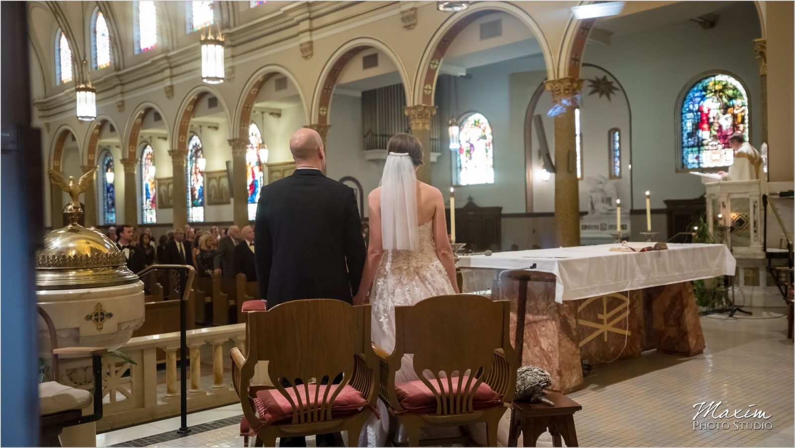 St. Boniface Church Cincinnati Wedding