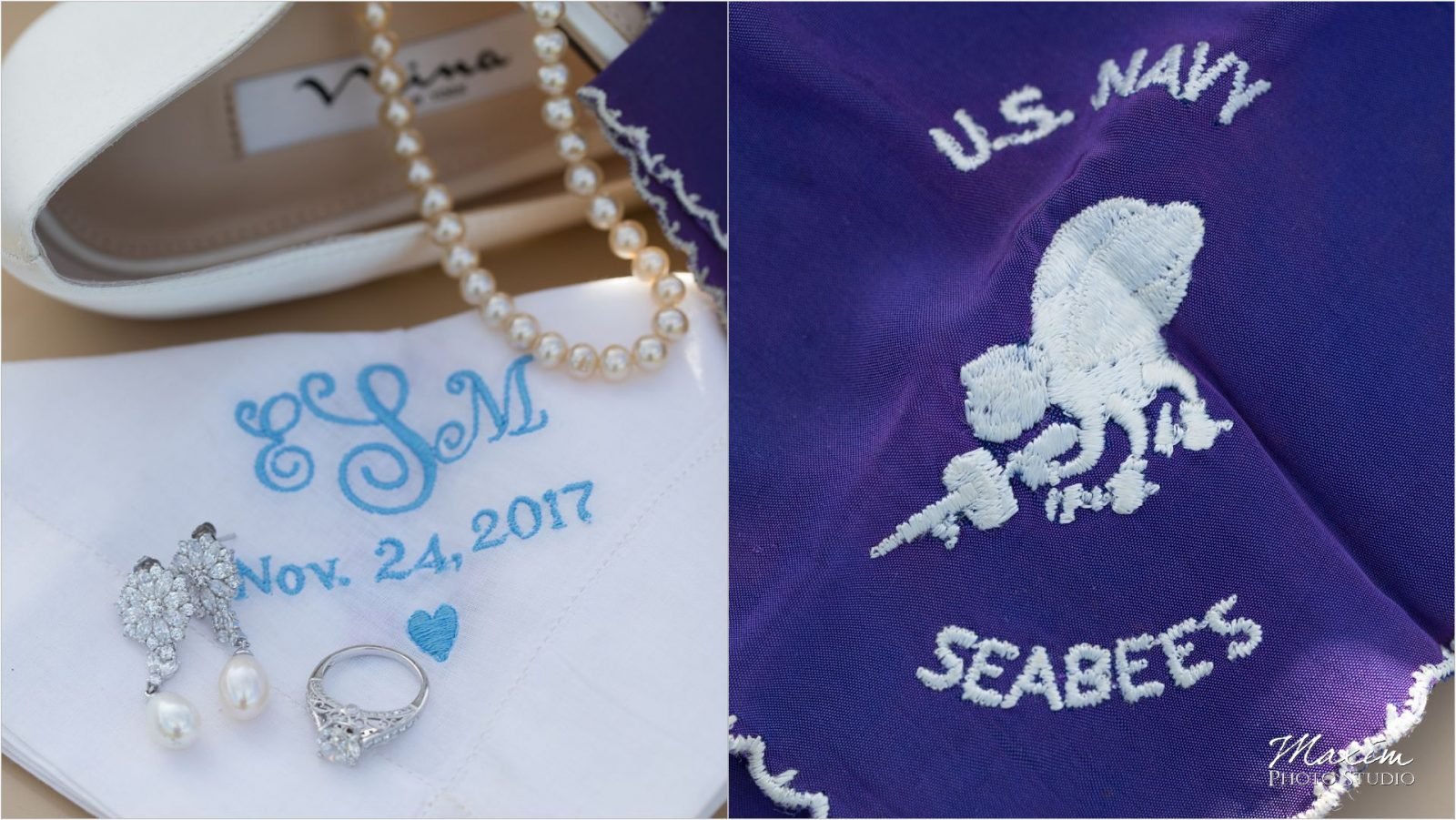 US Navy Seebees Cincinnati Wedding