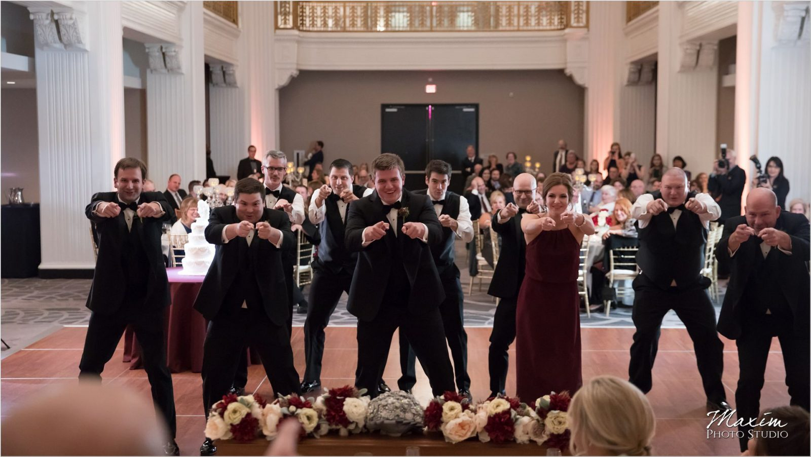 Walker Texas Ranger Dance Renaissance Hotel Cincinnati Wedding