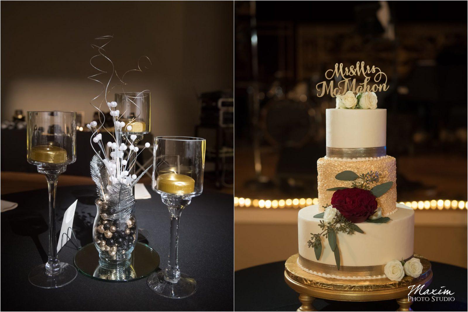 The Bonbonerie Cincinnati Wedding Cake