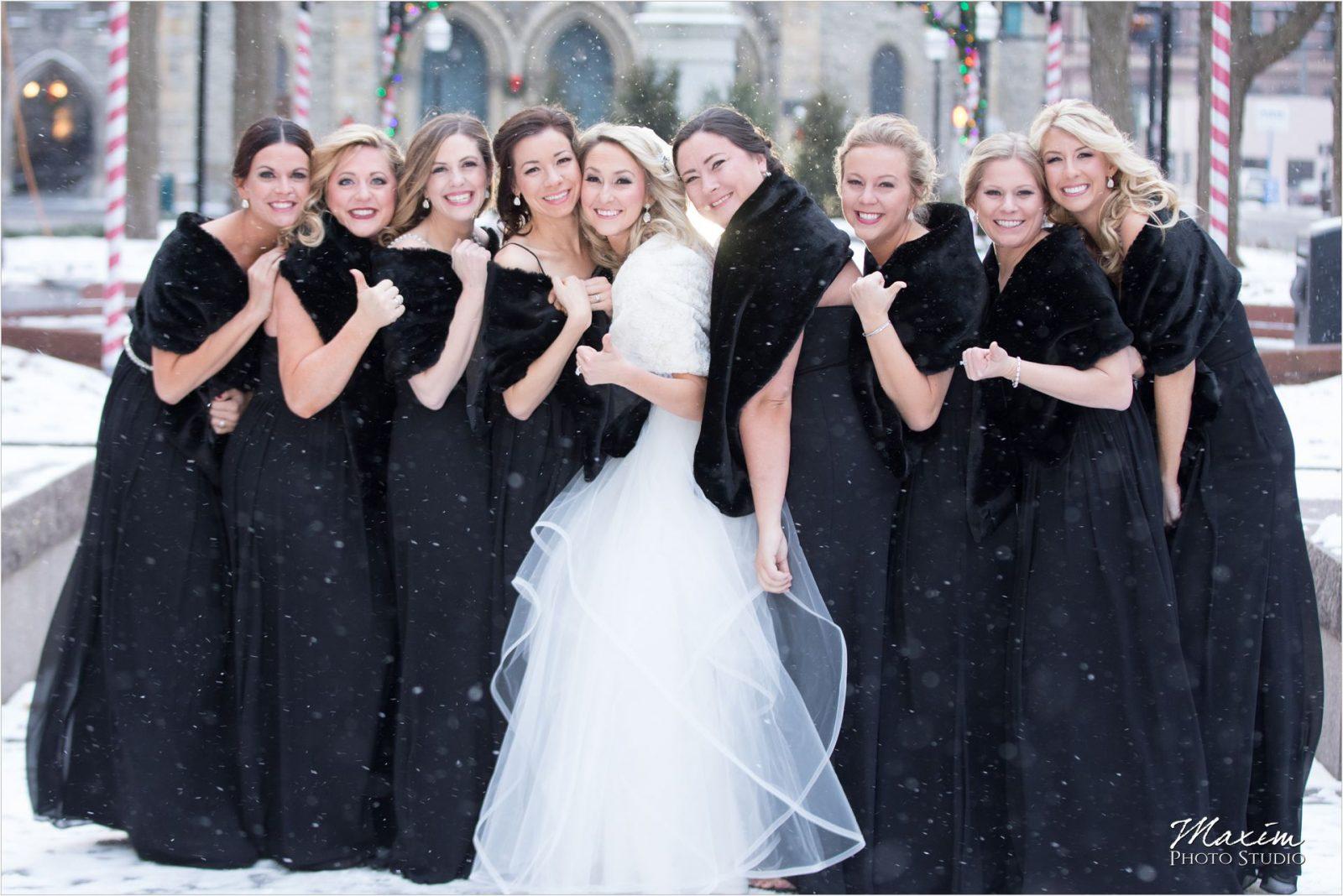 Piatt Park Cincinnati Bridesmaids