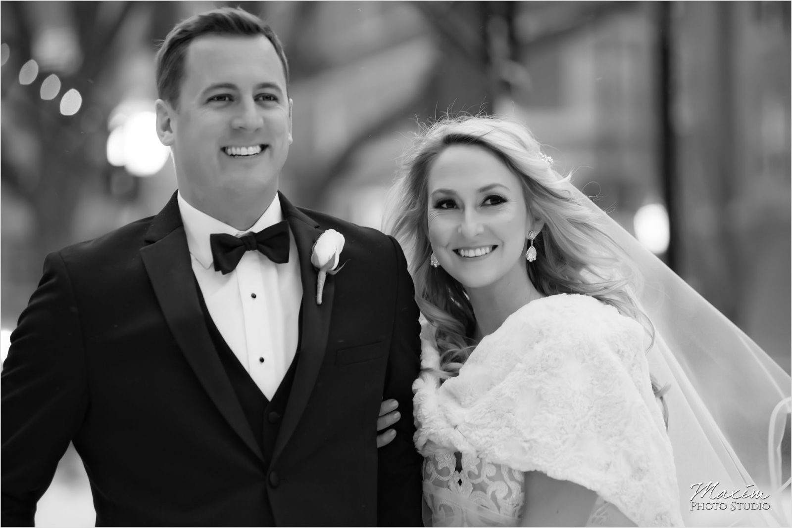 Cincinnati Wedding Photographers Piatt Park Winter picture