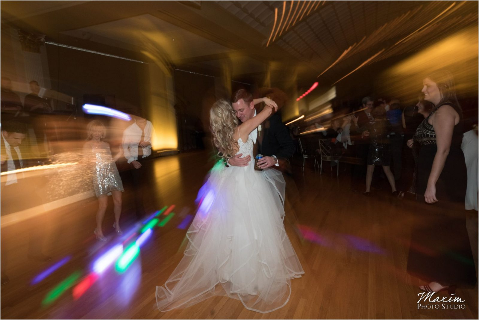 Cincinnati Music Hall Ballroom Wedding Reception Dance