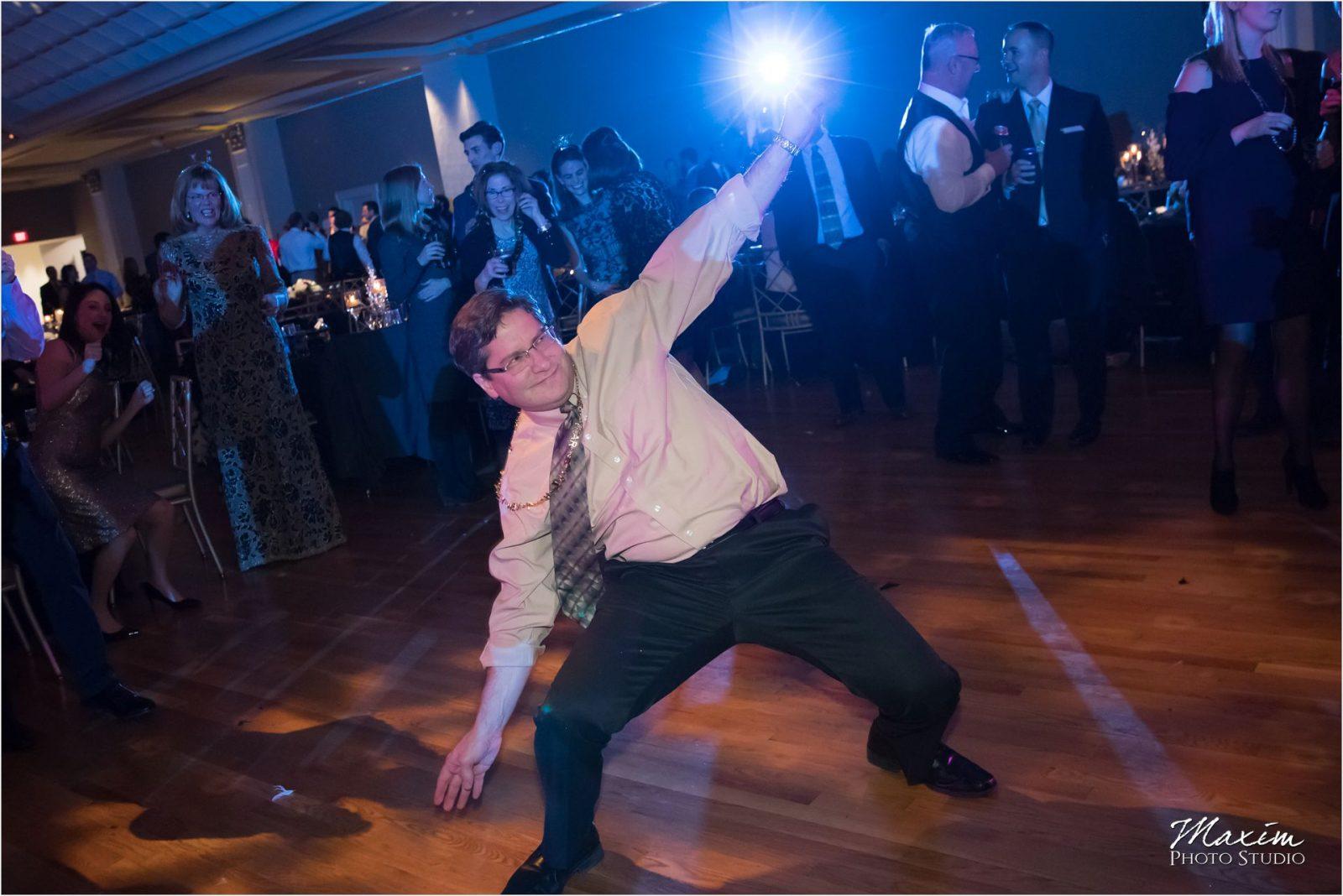 Cincinnati Music Hall Ballroom Wedding Reception Dance