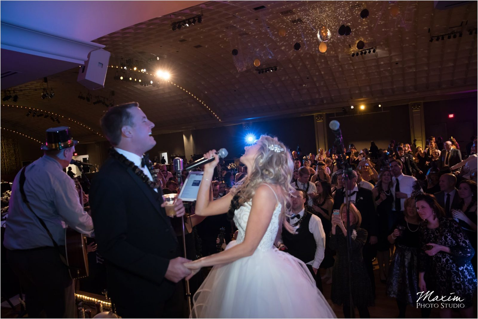 The Touchables Band Cincinnati Music Hall Wedding
