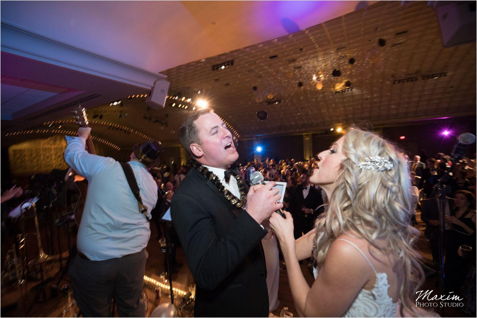 The Touchables Band Cincinnati Music Hall Wedding