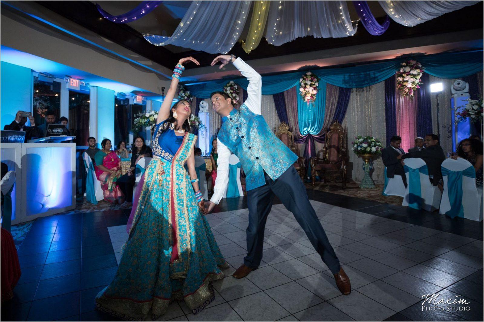 Hindu Wedding Reception Country Club of the North