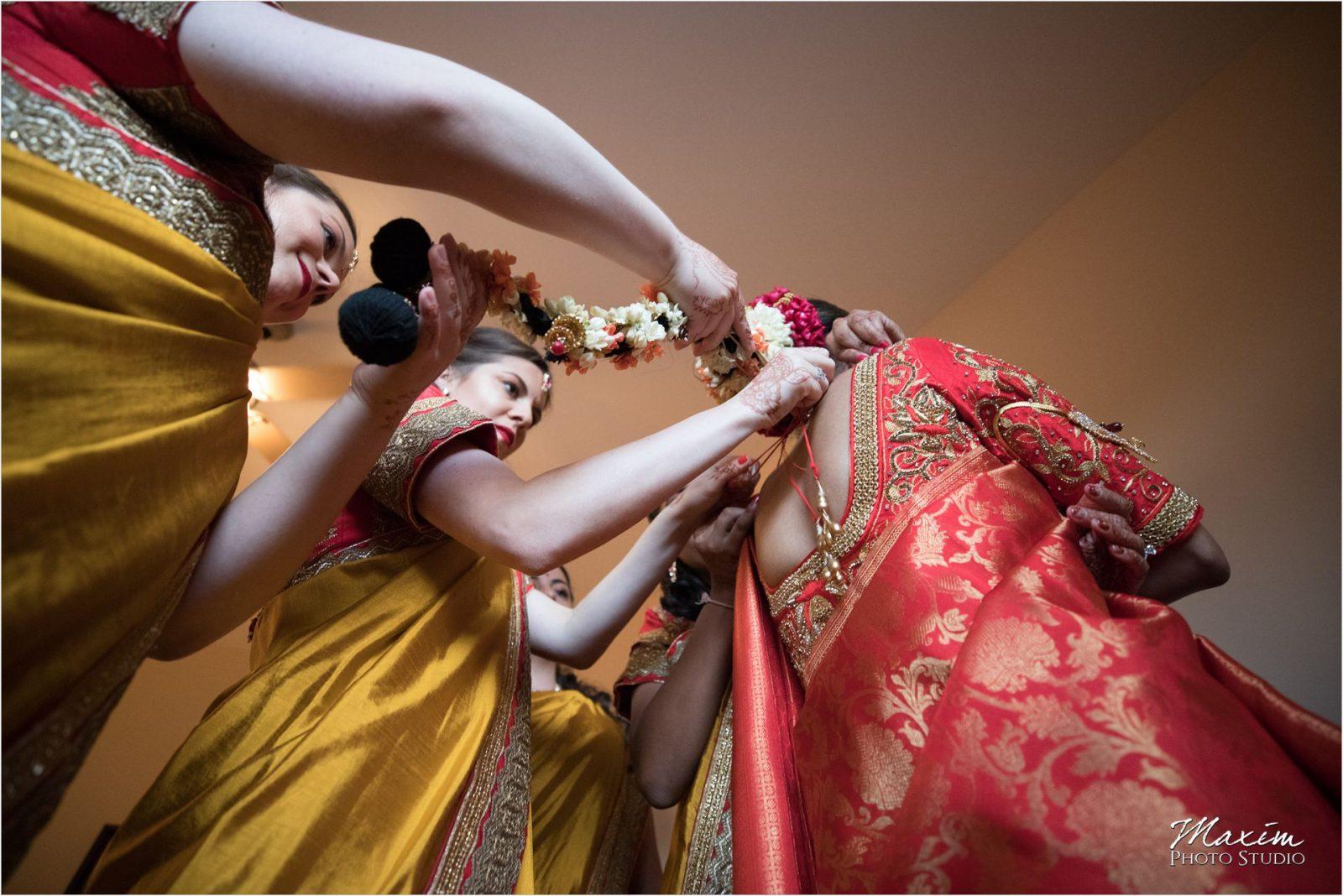 Hindu Wedding Ceremony Hindu Temple Dayton