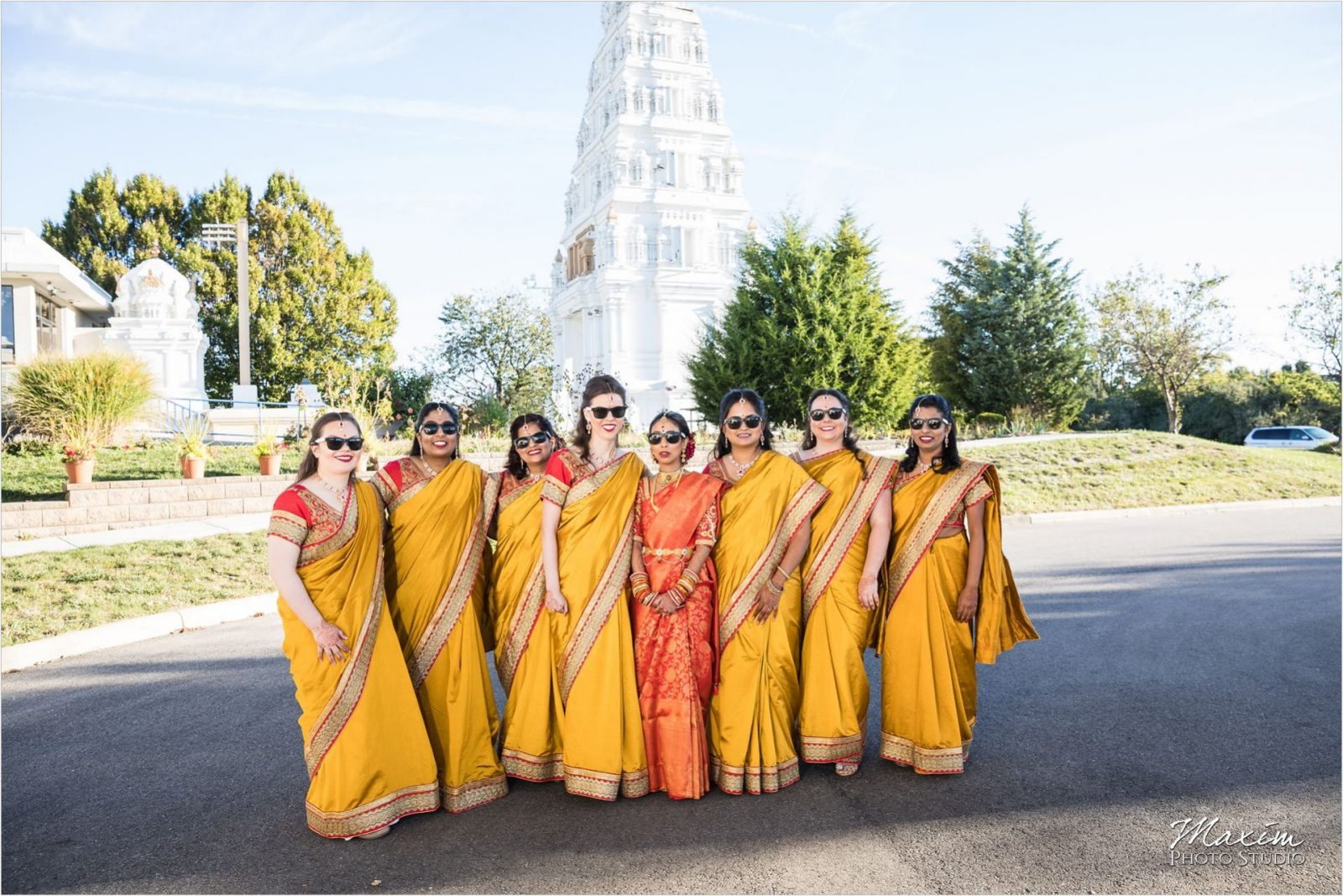 Hindu Wedding Ceremony Hindu Temple Dayton Bridesmaids