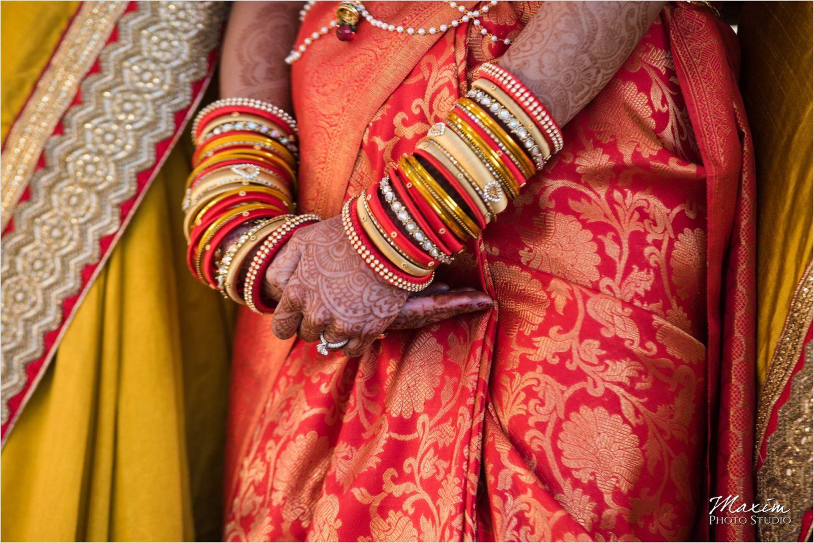 Hindu Wedding Ceremony Hindu Temple Dayton Bridesmaids
