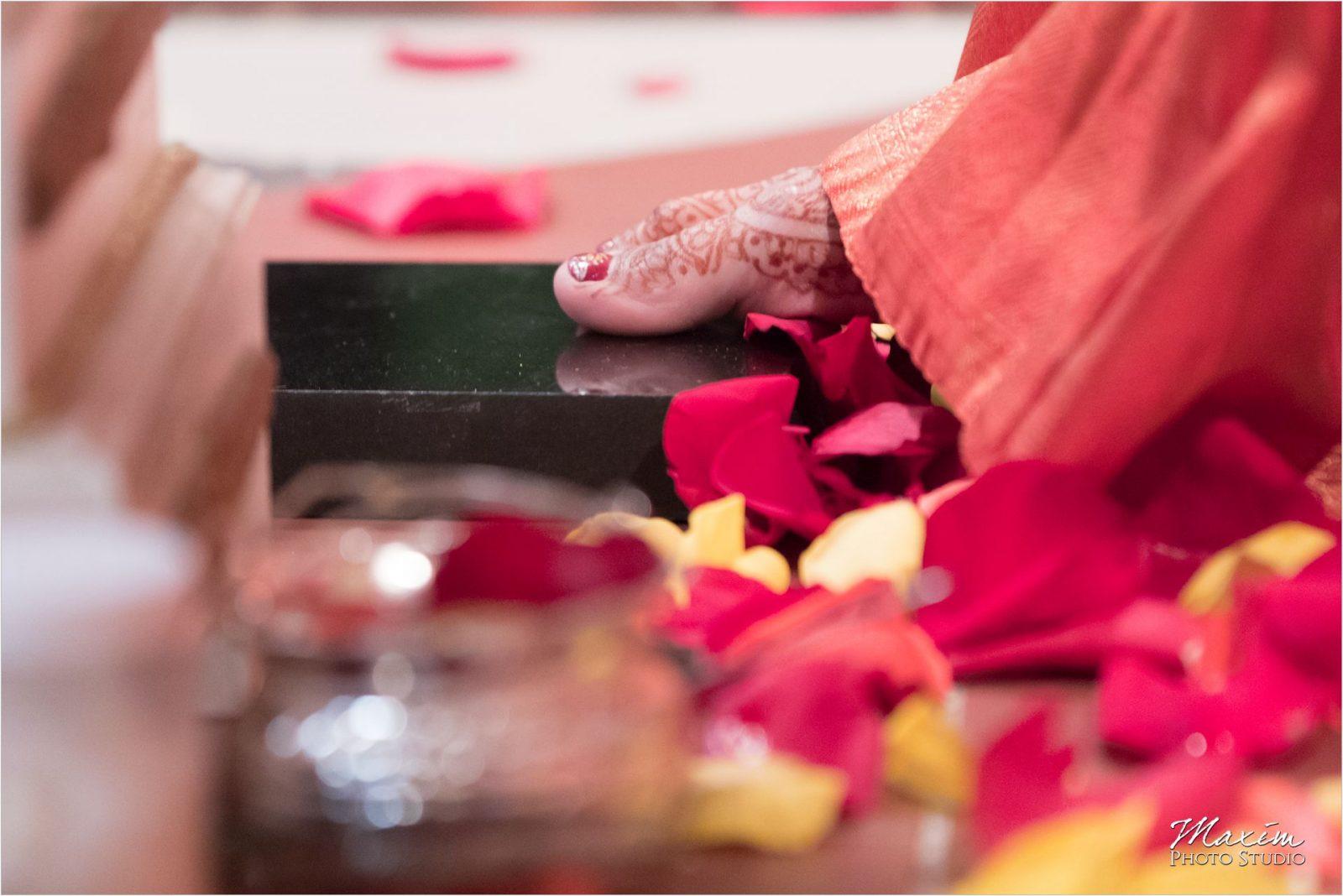 Baraat Hindu Wedding Ceremony Hindu Temple Dayton