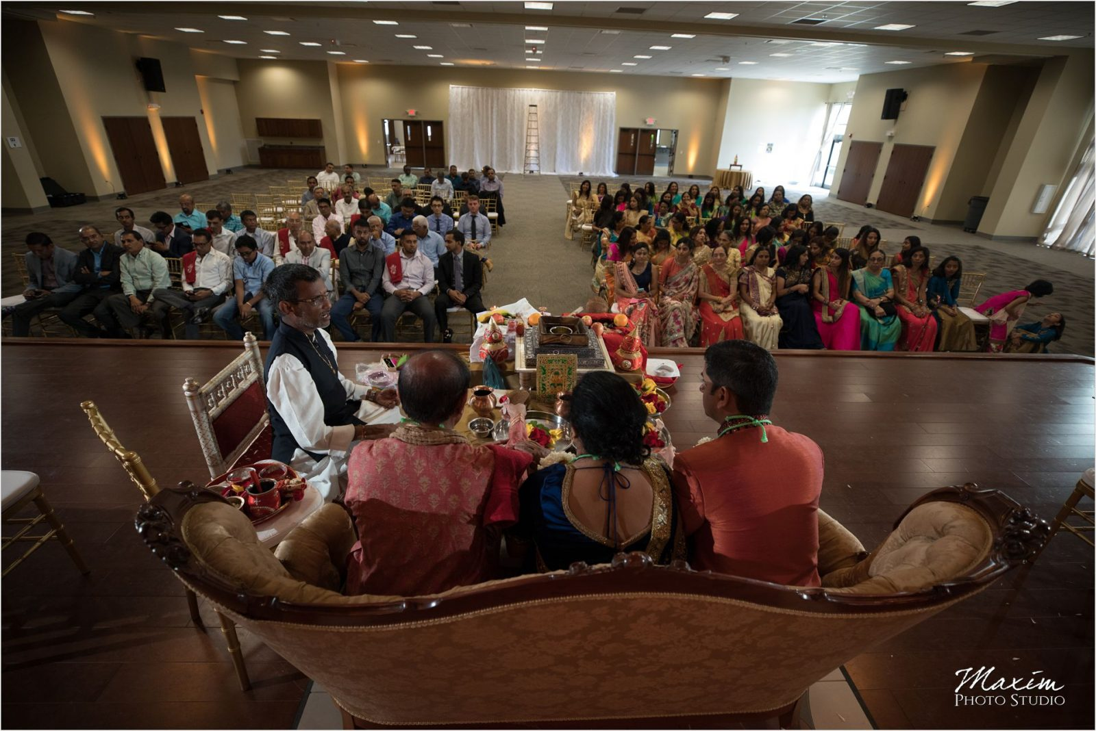 Hindu Temple Dayton Gujarati Kannadiga wedding custom photography