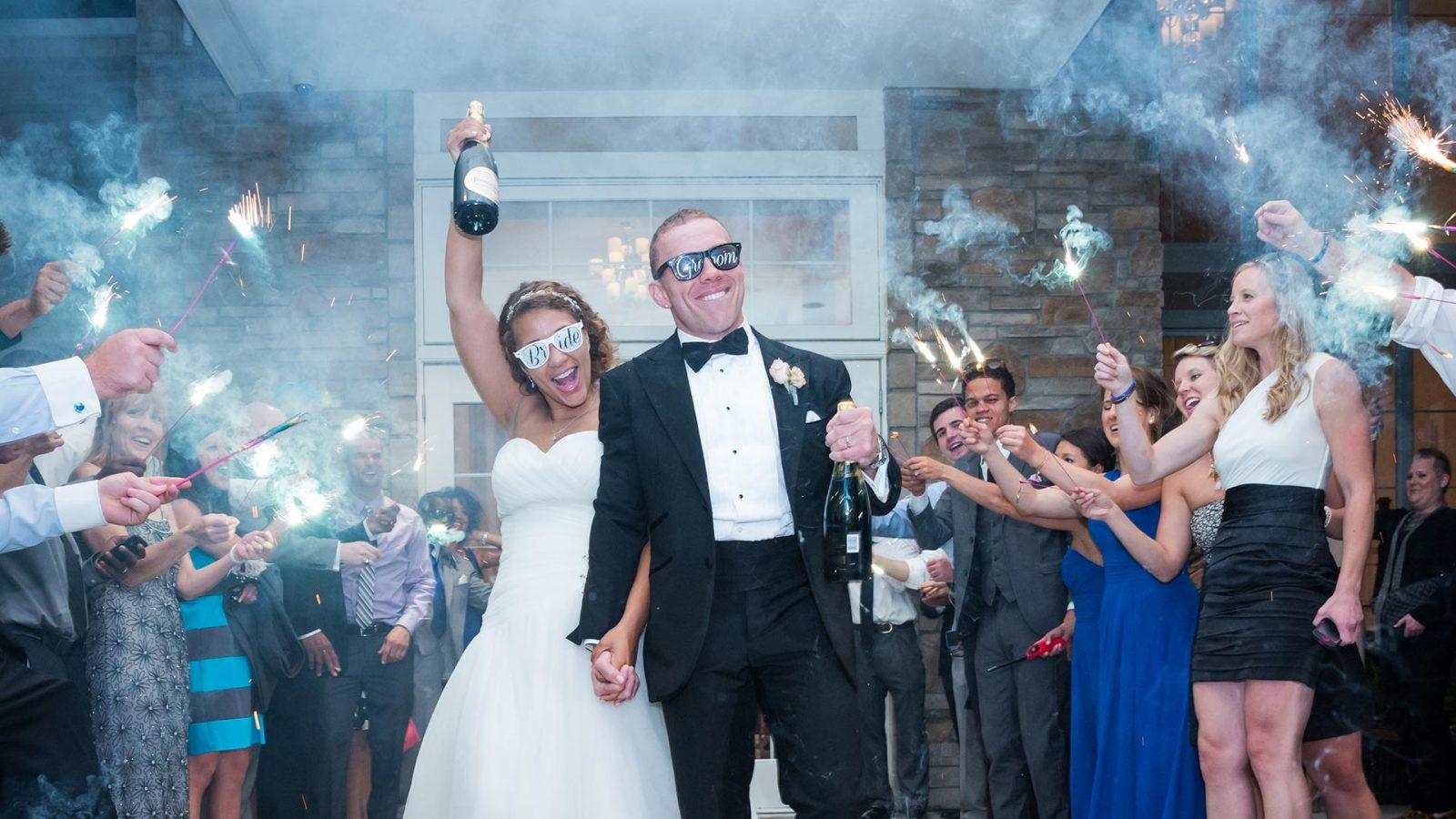 Cooper Creek Wedding Sparkler